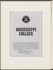 Mississippi College - Tribesman Yearbook (Clinton, MS) online yearbook collection, 1968 Edition, Page 4