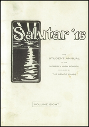Moberly High School - Salutar Yearbook (Moberly, MO) online yearbook collection, 1916 Edition, Page 5