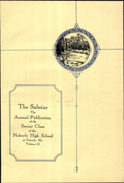 Moberly High School - Salutar Yearbook (Moberly, MO) online yearbook collection, 1927 Edition, Page 9 of 184