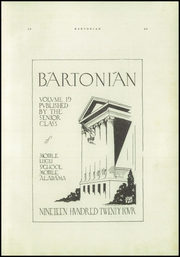 Mobile High School - Bartonian Yearbook (Mobile, AL) online yearbook collection, 1924 Edition, Page 5