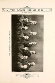 Monmouth College - Ravelings Yearbook (Monmouth, IL) online yearbook collection, 1921 Edition, Page 137 of 252