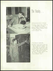 Monroe Union High School - Dragon Yearbook (Monroe, OR) online yearbook collection, 1952 Edition, Page 10