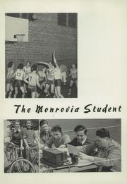 Monrovia High School - Monrovian Yearbook (Monrovia, CA) online yearbook collection, 1942 Edition, Page 8 of 104