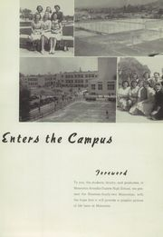 Monrovia High School - Monrovian Yearbook (Monrovia, CA) online yearbook collection, 1942 Edition, Page 9