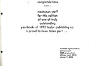 Montana State University Bozeman - Montanan Yearbook (Bozeman, MT) online yearbook collection, 1972 Edition, Page 367