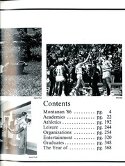 Montana State University Bozeman - Montanan Yearbook (Bozeman, MT) online yearbook collection, 1986 Edition, Page 5
