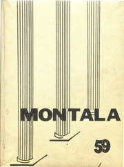 Montevallo High School - Montala Yearbook (Montevallo, AL) online yearbook collection, 1959 Edition, Cover