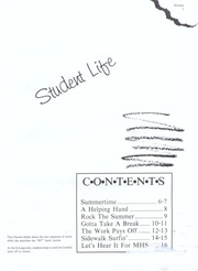 Page 9, 1988 Edition, Montevallo High School - Montala Yearbook (Montevallo, AL) online yearbook collection