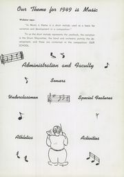 Page 9, 1949 Edition, Montgomery Blair High School - Silverlogue Yearbook (Silver Spring, MD) online yearbook collection