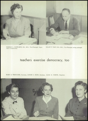 Page 13, 1954 Edition, Montgomery Blair High School - Silverlogue Yearbook (Silver Spring, MD) online yearbook collection