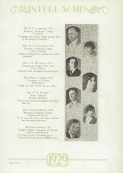 Page 17, 1929 Edition, Montverde Academy - Interlachen Yearbook (Montverde, FL) online yearbook collection