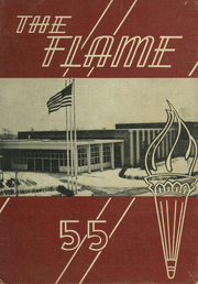 Moon High School - Flame Yearbook (Coraopolis, PA) online yearbook collection, 1955 Edition, Cover