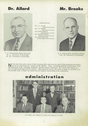 Page 11, 1955 Edition, Moon High School - Flame Yearbook (Coraopolis, PA) online yearbook collection