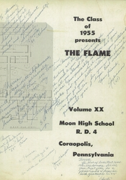 Page 7, 1955 Edition, Moon High School - Flame Yearbook (Coraopolis, PA) online yearbook collection