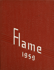 Moon High School - Flame Yearbook (Coraopolis, PA) online yearbook collection, 1959 Edition, Cover
