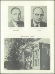 Page 9, 1956 Edition, Morgan High School - Utopian Yearbook (Morgan, UT) online yearbook collection