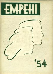 Morgan Park High School - Empehi Yearbook (Chicago, IL) online yearbook collection, 1954 Edition, Cover