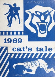 Morganton High School - Cats Tale Yearbook (Morganton, NC) online yearbook collection, 1969 Edition, Cover
