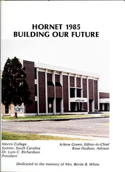 Page 7, 1985 Edition, Morris College - Hornet Yearbook (Sumter, SC) online yearbook collection