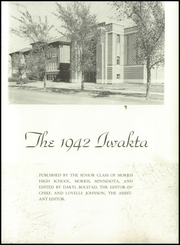 Page 7, 1942 Edition, Morris High School - Iwatka Yearbook (Morris, MN) online yearbook collection