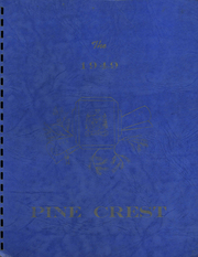 Morrison Cove High School - Pine Crest Yearbook (Martinsburg, PA) online yearbook collection, 1949 Edition, Cover