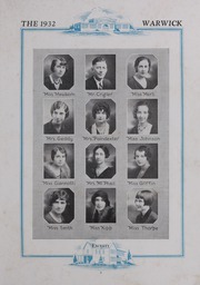 Page 13, 1932 Edition, Morrison High School - Warwick Yearbook (Morrison, VA) online yearbook collection
