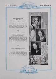 Page 17, 1932 Edition, Morrison High School - Warwick Yearbook (Morrison, VA) online yearbook collection