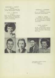 Morrisonville High School - Crest Yearbook (Morrisonville, IL) online yearbook collection, 1950 Edition, Page 13 of 112