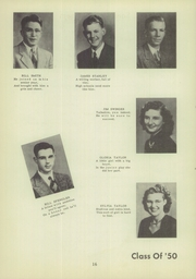 Morrisonville High School - Crest Yearbook (Morrisonville, IL) online yearbook collection, 1950 Edition, Page 20
