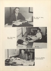 Morrisonville High School - Crest Yearbook (Morrisonville, IL) online yearbook collection, 1952 Edition, Page 11 of 108