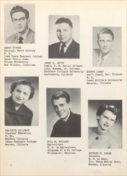 Morrisonville High School - Crest Yearbook (Morrisonville, IL) online yearbook collection, 1952 Edition, Page 12