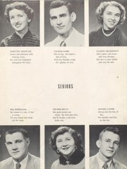 Morrisonville High School - Crest Yearbook (Morrisonville, IL) online yearbook collection, 1954 Edition, Page 17 of 80