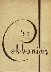 Morristown High School - Cobbonian Yearbook (Morristown, NJ) online yearbook collection, 1953 Edition, Cover