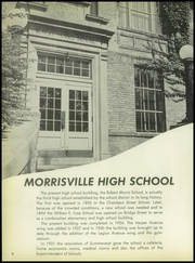 Morrisville High School - Robert Morris Yearbook (Morrisville, PA) online yearbook collection, 1957 Edition, Page 8