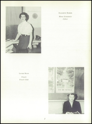 Page 11, 1957 Edition, Morse High School - Clipper Yearbook (Bath, ME) online yearbook collection