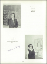 Page 17, 1957 Edition, Morse High School - Clipper Yearbook (Bath, ME) online yearbook collection