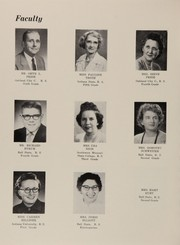 Page 10, 1959 Edition, Morton Memorial Schools - Retrospect Yearbook (Knightstown, IN) online yearbook collection