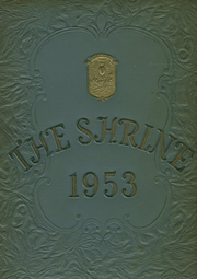 Mother Cabrini High School - Shrine Yearbook (New York, NY) online yearbook collection, 1953 Edition, Cover