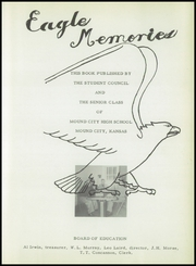 Page 7, 1953 Edition, Mound City High School - Eagle Memories Yearbook (Mound City, KS) online yearbook collection