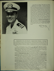 Page 9, 1986 Edition, Mount Baker (AE 34) - Naval Cruise Book online yearbook collection