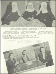 Page 13, 1956 Edition, Mount Carmel High School - Ave Maria Yearbook (Denver, CO) online yearbook collection
