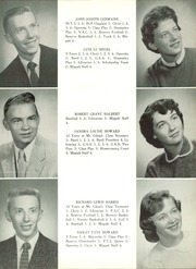 Page 15, 1956 Edition, Mount Gilead High School - Mizpah Yearbook (Mount Gilead, OH) online yearbook collection