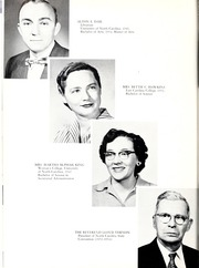 Page 12, 1955 Edition, Mount Olive College - Olive Leaves Yearbook (Mount Olive, NC) online yearbook collection