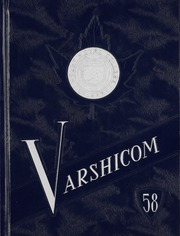 Mount Royal College - Varshicom Yearbook (Calgary, Alberta Canada) online yearbook collection, 1958 Edition, Cover