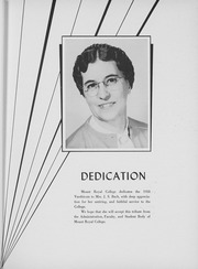 Page 15, 1958 Edition, Mount Royal College - Varshicom Yearbook (Calgary, Alberta Canada) online yearbook collection
