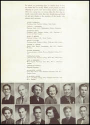 Page 16, 1954 Edition, Mount Savage High School - Arrowhead Yearbook (Mount Savage, MD) online yearbook collection