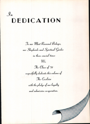 Page 9, 1951 Edition, Mount St Charles Academy - Excelsior Yearbook (Woonsocket, RI) online yearbook collection