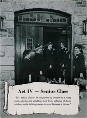 Page 17, 1956 Edition, Mount St John Academy - Veritas Yearbook (Gladstone, NJ) online yearbook collection