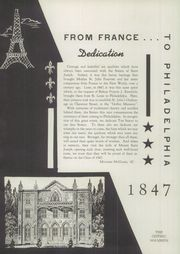 Page 6, 1947 Edition, Mount St Joseph Academy - Sheaf Yearbook (Philadelphia, PA) online yearbook collection