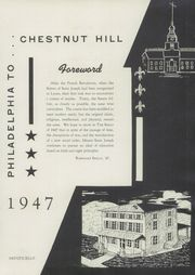 Page 7, 1947 Edition, Mount St Joseph Academy - Sheaf Yearbook (Philadelphia, PA) online yearbook collection